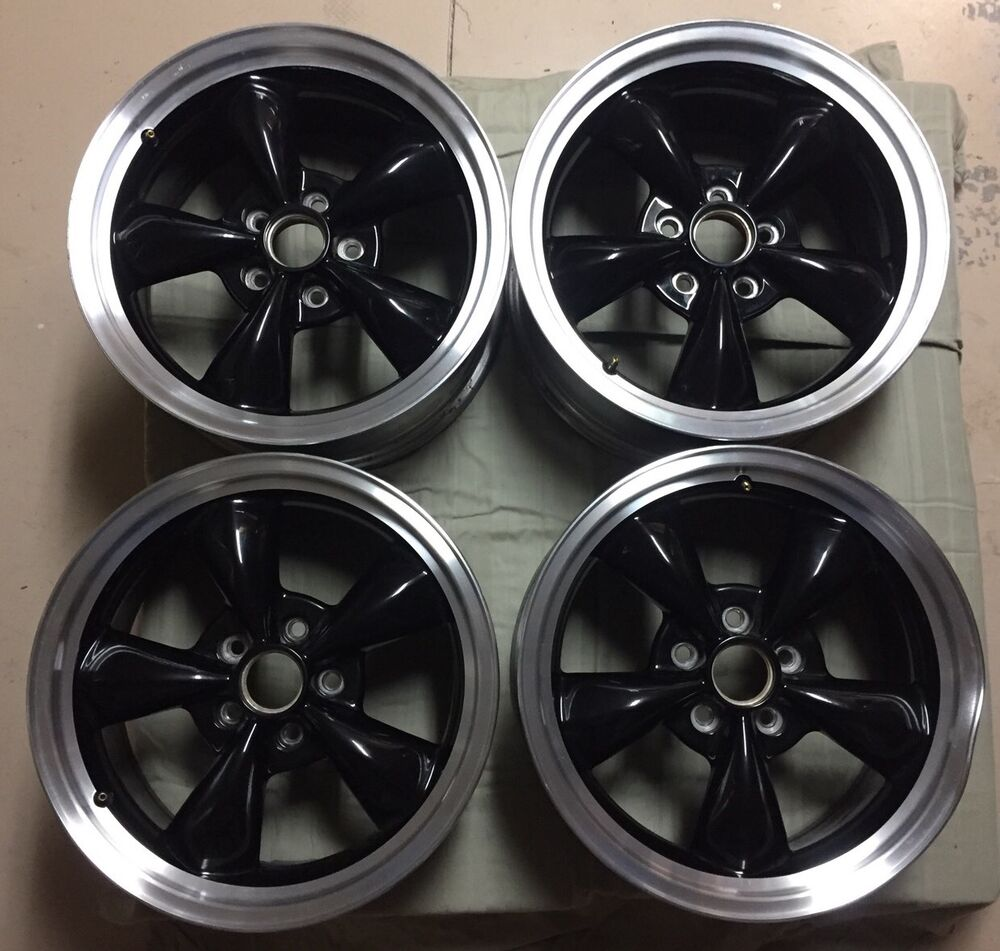 authentic oem ford racing mustang 17 x 8 bullitt wheels. Black Bedroom Furniture Sets. Home Design Ideas