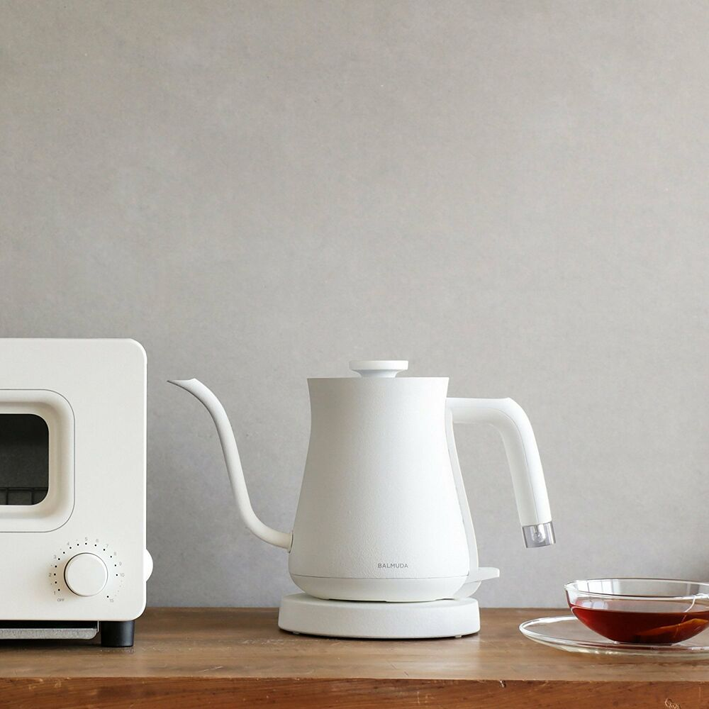 BALMUDA White Electric Kettle The Pot K02A-WH Home Kitchen F/S from ...