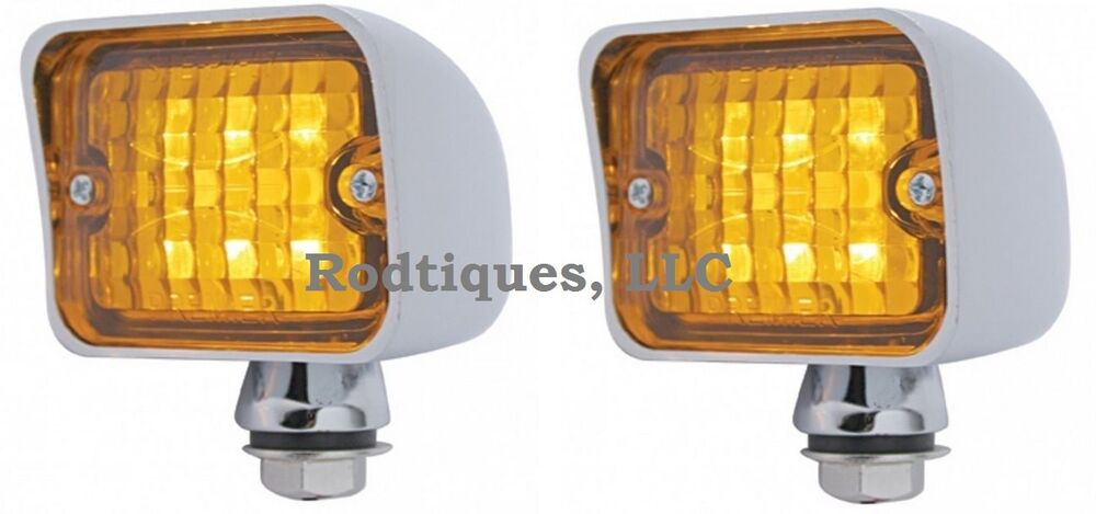 Dune Buggy Lights : Amber led taillights turn signal running brake light dune