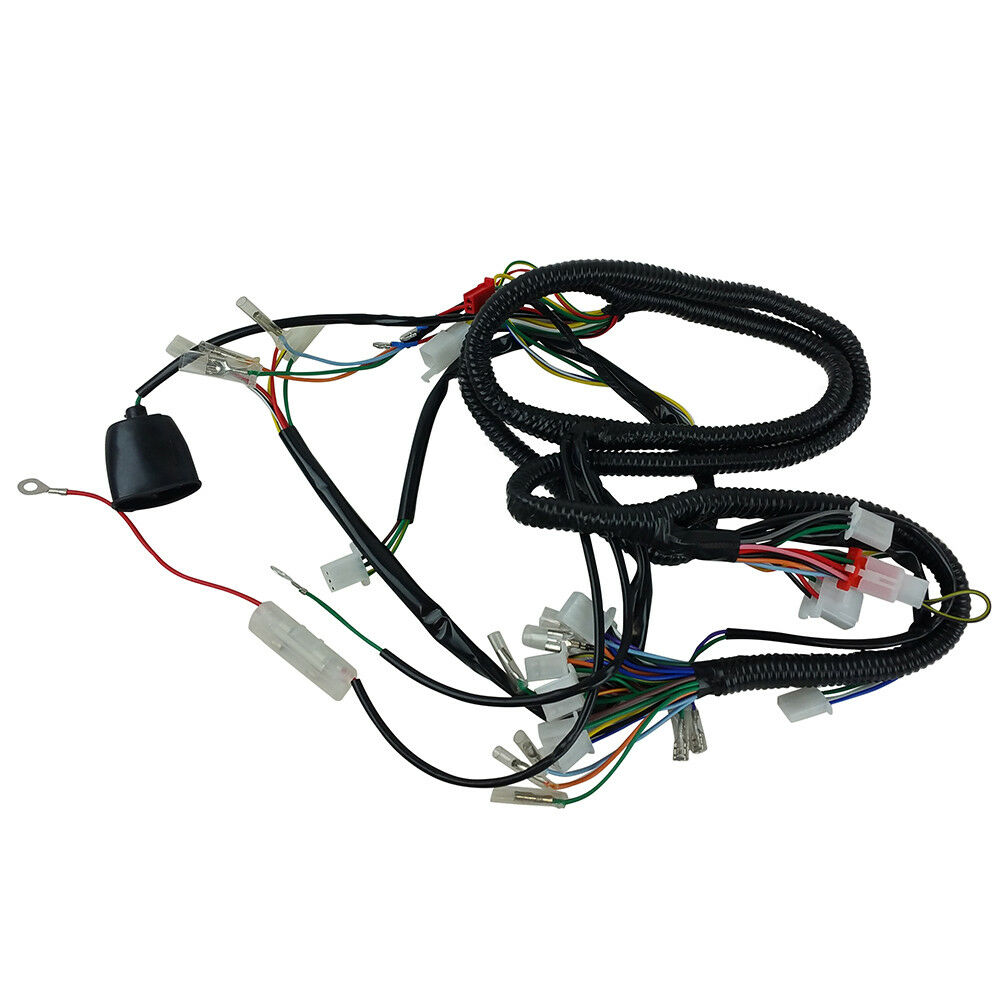 s l1000 chinese gy6 150cc wire harness wiring assembly scooter moped sunl  at n-0.co