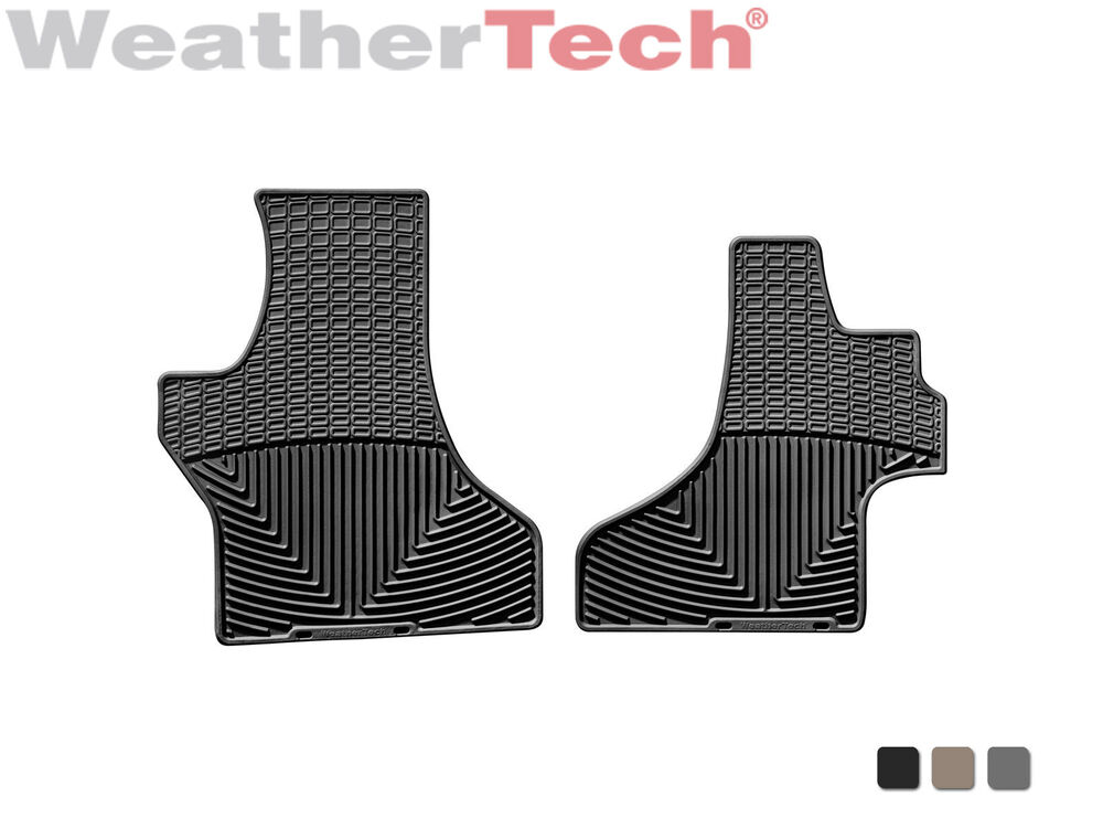 Weathertech All Weather Floor Mats For Ford Econoline E