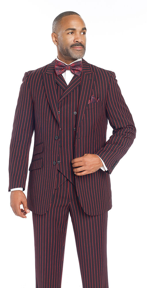 3 piece suits are more than just adding a matching vest to a jacket and pants. A 3 piece suit has a quality of style that just distinguishes the look from a 2 piece suit even if .