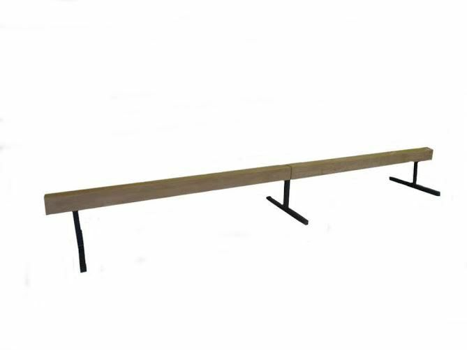 12 Ft Sectional Balance Beam Tan W 12 Quot Risers Kgs