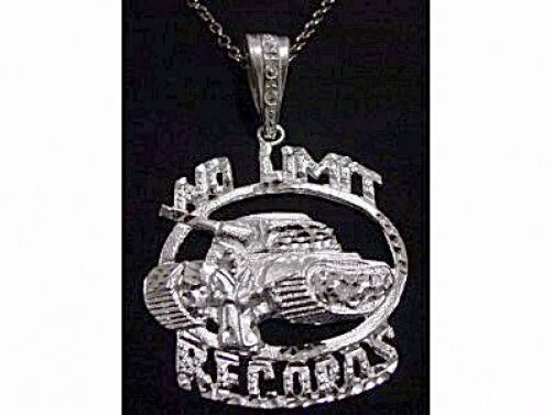 huge new no limit soldier pendant charm records jewelry