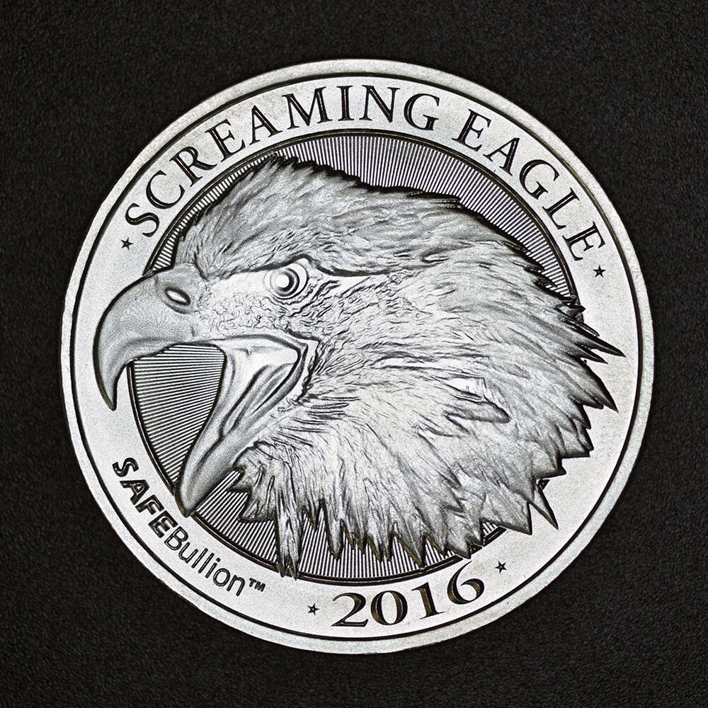 Screaming Eagle 1 Oz 999 Silver Coin Hd Harley Davidson