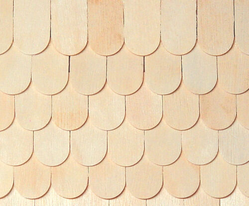 Dollhouse houseworks fishscale shingles 1000pc count for Fish scale shingles
