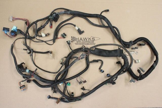 s l1000 89 92 camaro firebird tbi tpi 305 350 engine wiring harness used 2007 GMC Acadia Wiring Harness at creativeand.co