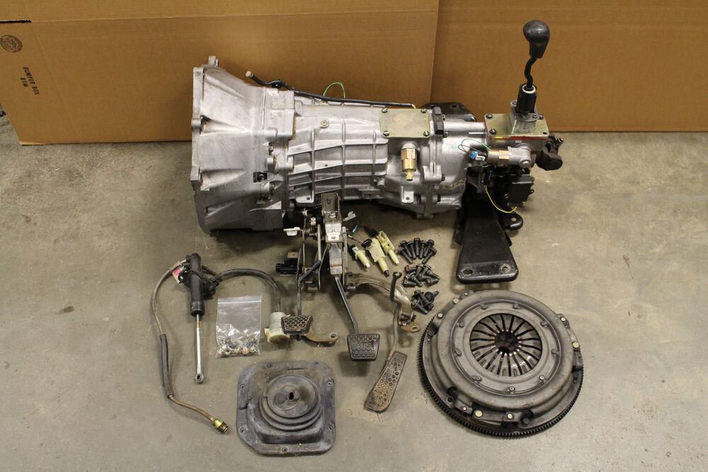Ebay Motors Fees >> 93-97 Camaro/Firebird LT1 Tremec T56 6 Speed Manual Conversion Kit Complete Used | eBay