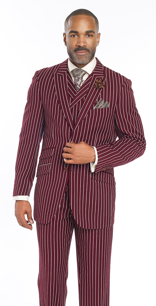 MOGU Mens Pinstripe Suit 3 Piece Slim Fit Casual Dress Suits Blazer+Vest+Pants. by MOGU. $ - $ $ 67 $ 85 99 Prime. FREE Shipping on eligible orders. Some sizes/colors are Prime eligible. out of 5 stars Product Features mens pinstripe suit.