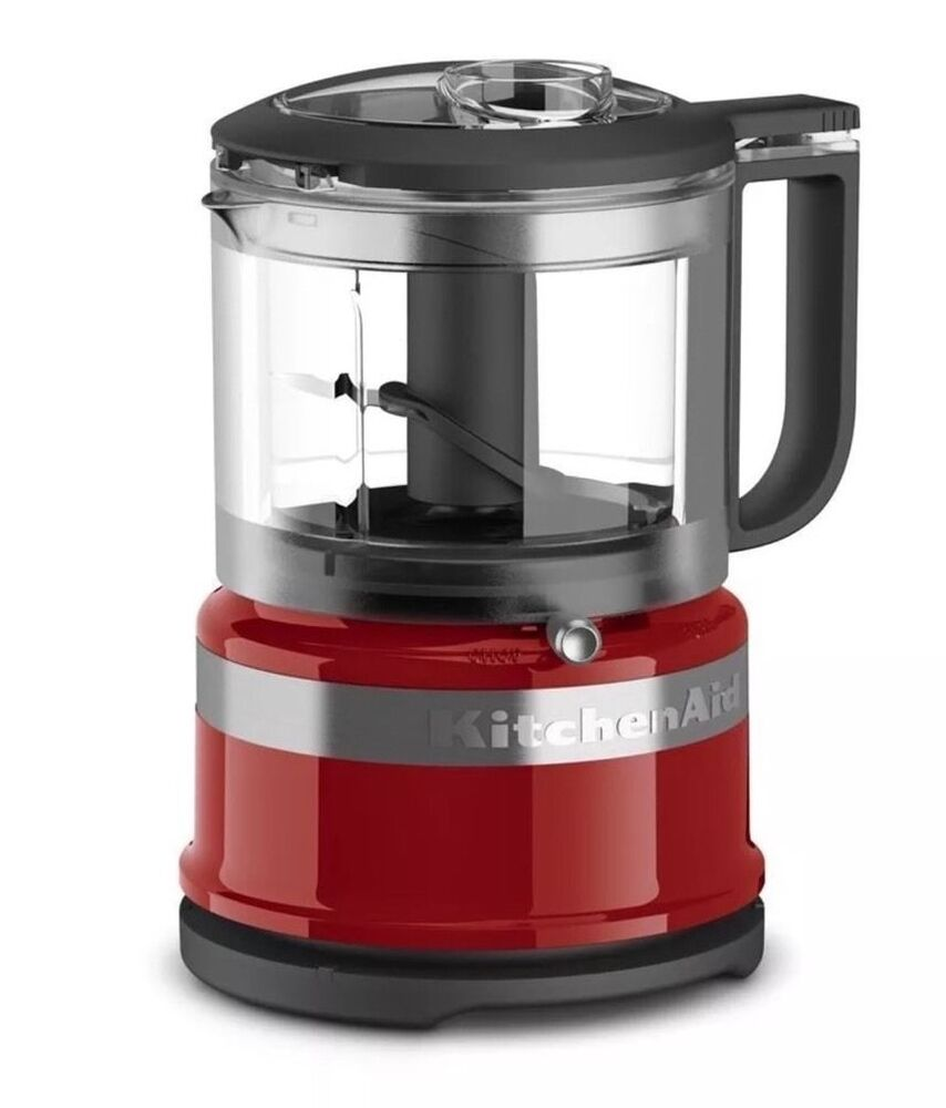 kitchenaid kfc3516er 3 5 cup mini food processor empire red ebay. Black Bedroom Furniture Sets. Home Design Ideas