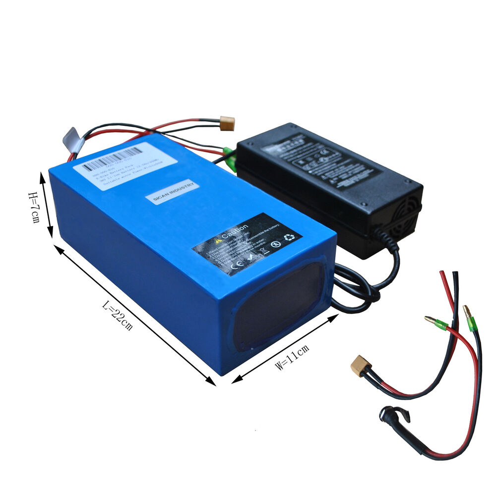 36v 12 5ah Lithium Battery W Charger For Mountain Bike