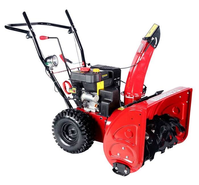 Gas Powered Snow Blowers : Inch cc two stage electric start gas snow blower