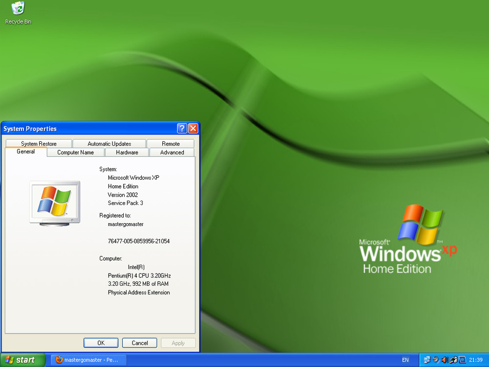 Windows XP Recovery and Repair Disk
