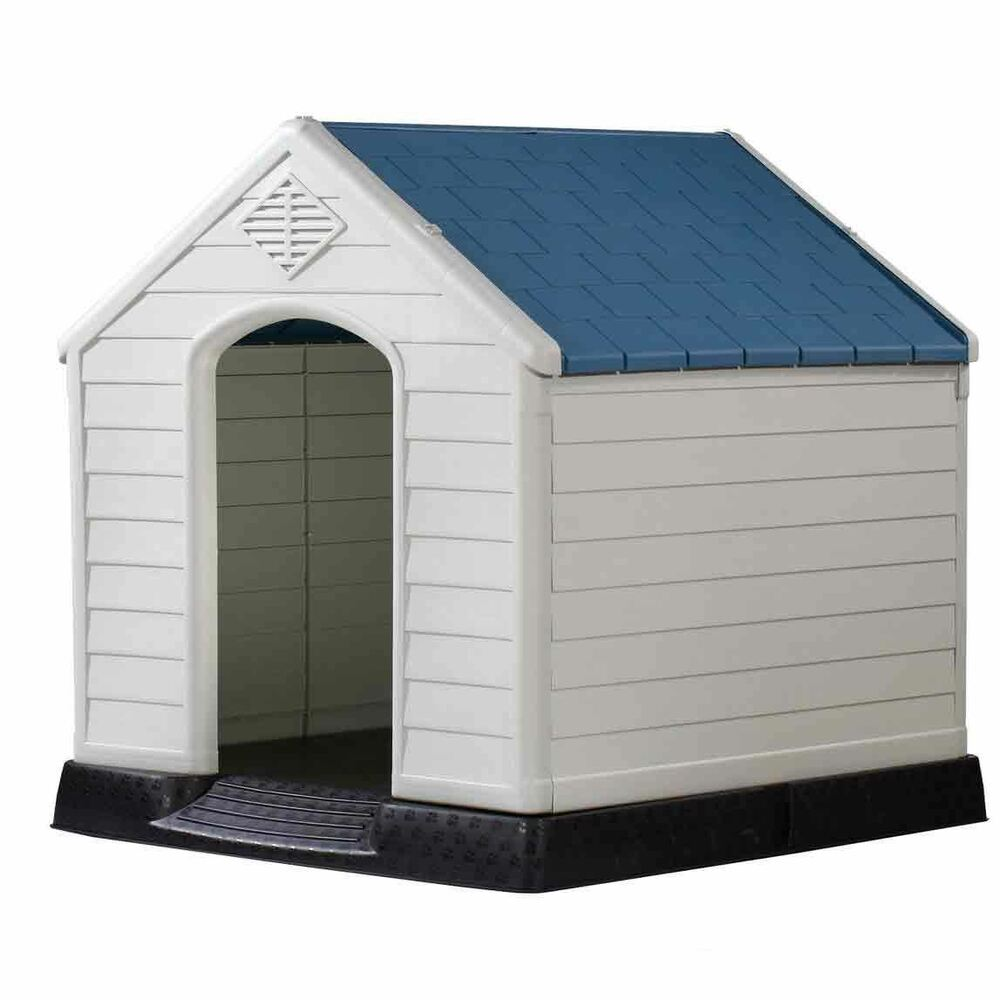 Rugged Large Dog House: Dog Kennel Pet House Large Weatherproof Outdoor Durable