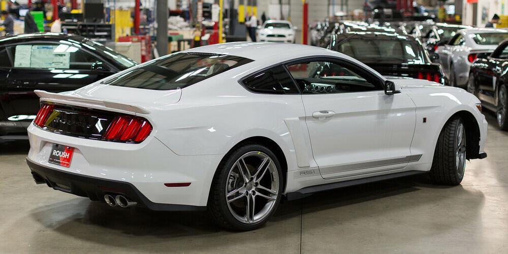 Red Wing Ford >> 2015-2018 Mustang Coupe Fastback Roush Rear Spoiler Wing Oxford White YZ 421893 844764005556 | eBay
