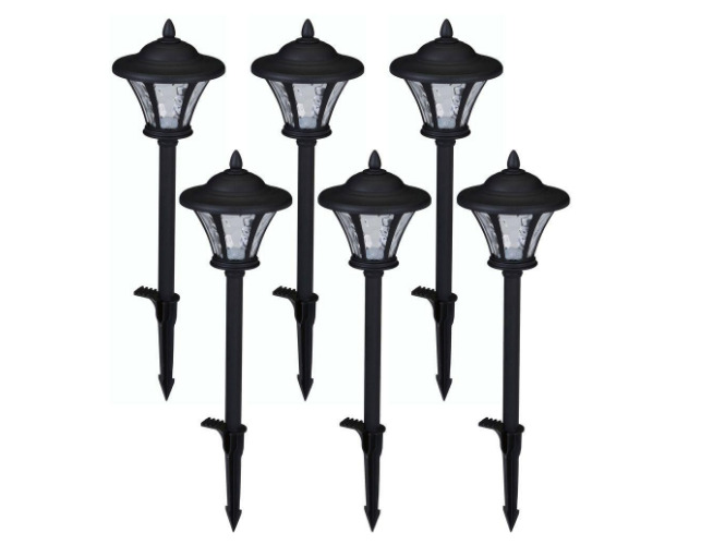 Hampton Bay Led Path Light Lamp Outdoor Landscape Garden