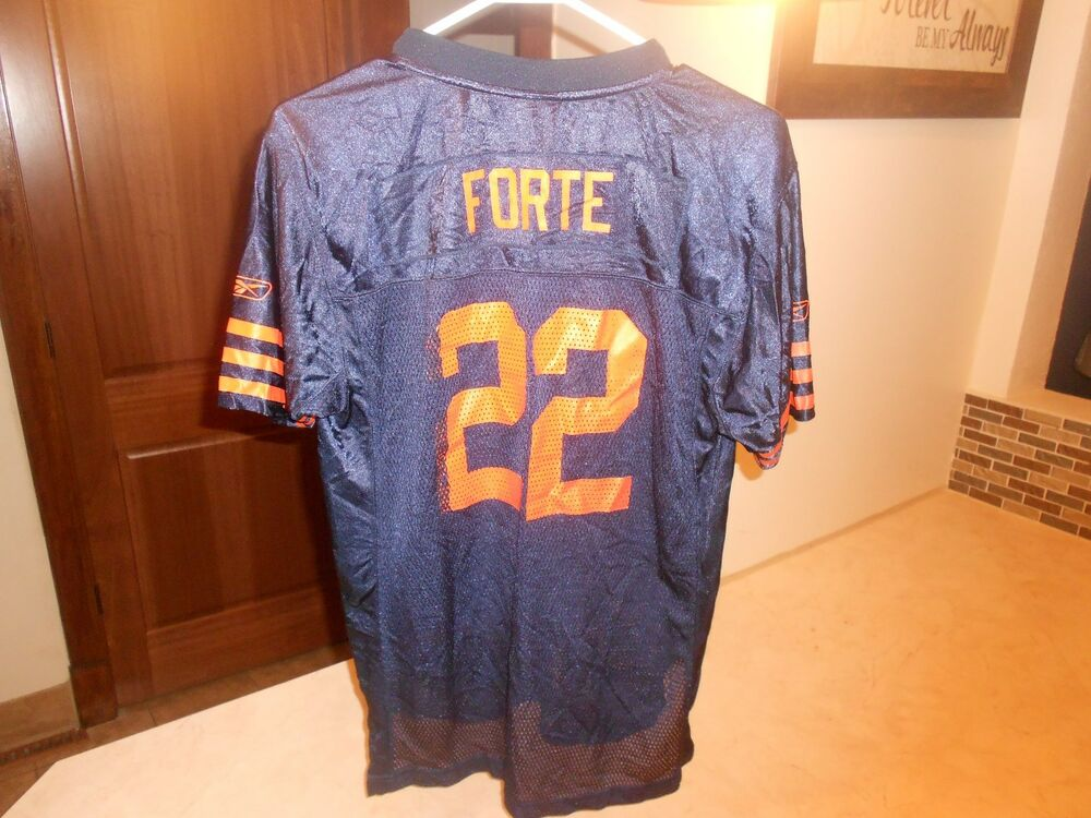 PRE-OWNED NFL CHICAGO BEARS MATT FORTE  22 REEBOK FOOTBALL JERSEY YOUTH  SIZE XL  c5e81c84c