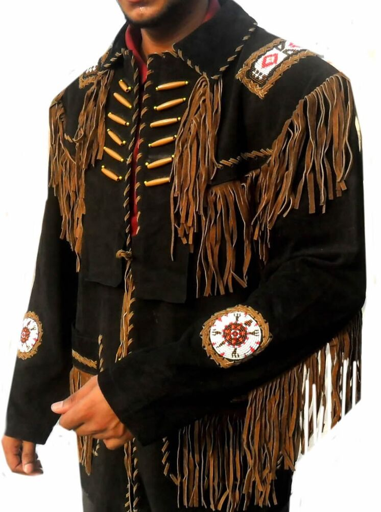 Mens leather western jackets