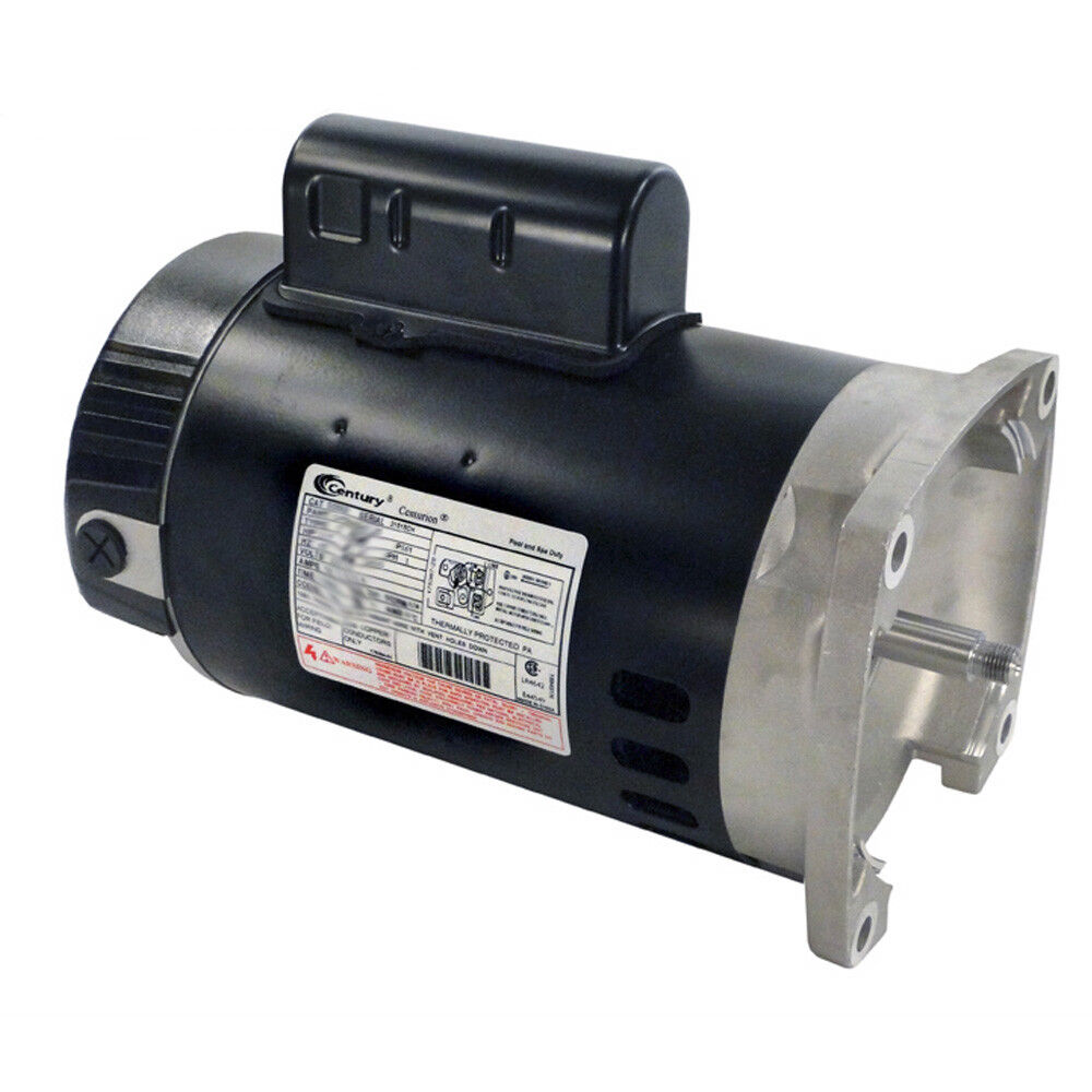 A o smith century b2852 up rate 3 4 hp 3450rpm single for Ao smith replacement motors