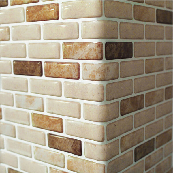 Self Adhesive Wall Tiles Peel And Stick Backsplash Kitchen Bathroom Wallpaper Ebay