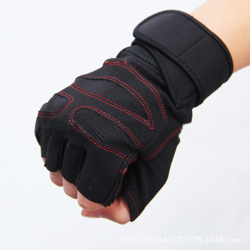 Personalized Fitness Gloves: Hot Gym Gloves Training Fitness Workout Wrist Wrap Sports