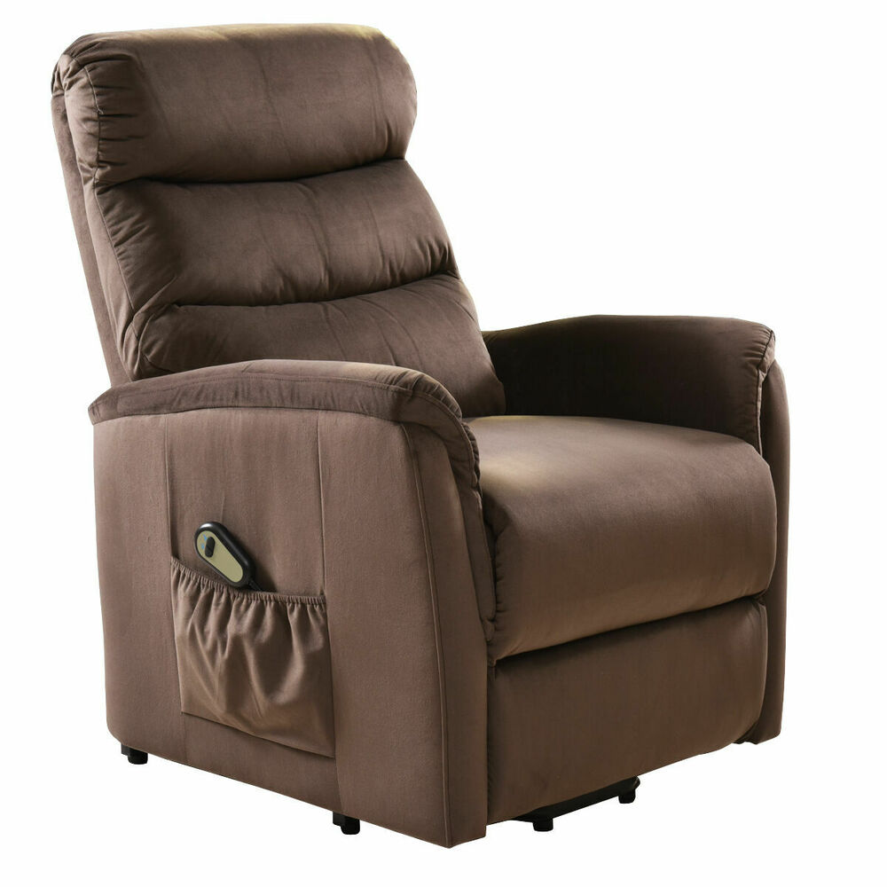 Electric Lift Chair Recliner Reclining Chair Remote Living