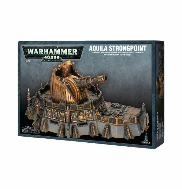 Warhammer 40 000 wall of martyrs aquila strongpoint ebay for Decor 40k