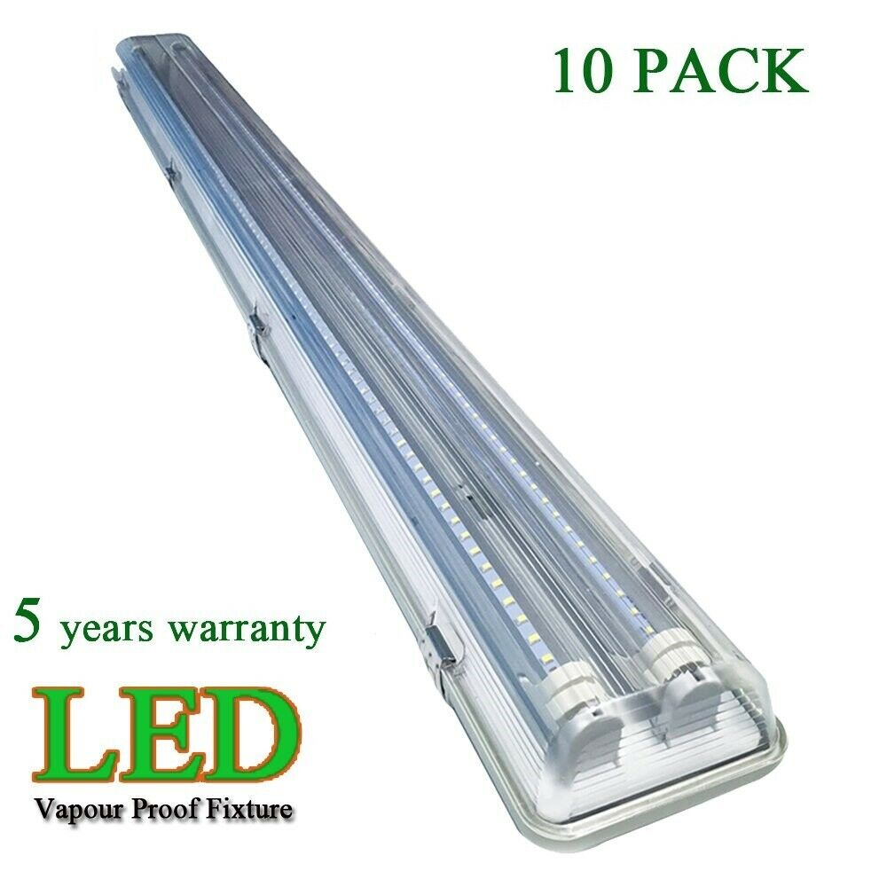 4' FT Vapor Proof Shop Garage Ceiling Light Fixture 36