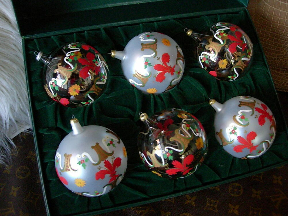 Christmas Ornaments Glass Hand Blown