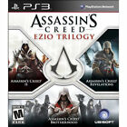 Assassins Creed Ezio Trilogy PS3 with II, Revelations, Brotherhood Brand New