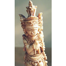 ANTIQUE INDONESIAN FIGURAL CARVING