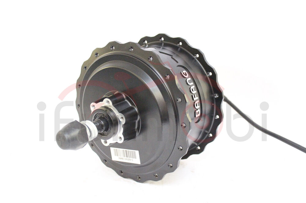 8fun bafang 48v 750w brushless geared threaded rear hub for Fat bike front hub motor