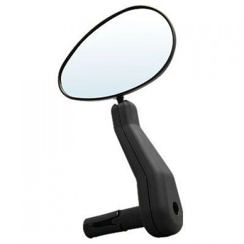Cateye Bicycle Bike Bar End Mirror Large Oblong Left Side