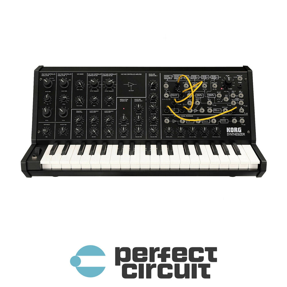 korg ms 20 ms20 mini analog synth synthesizer new perfect circuit ebay. Black Bedroom Furniture Sets. Home Design Ideas
