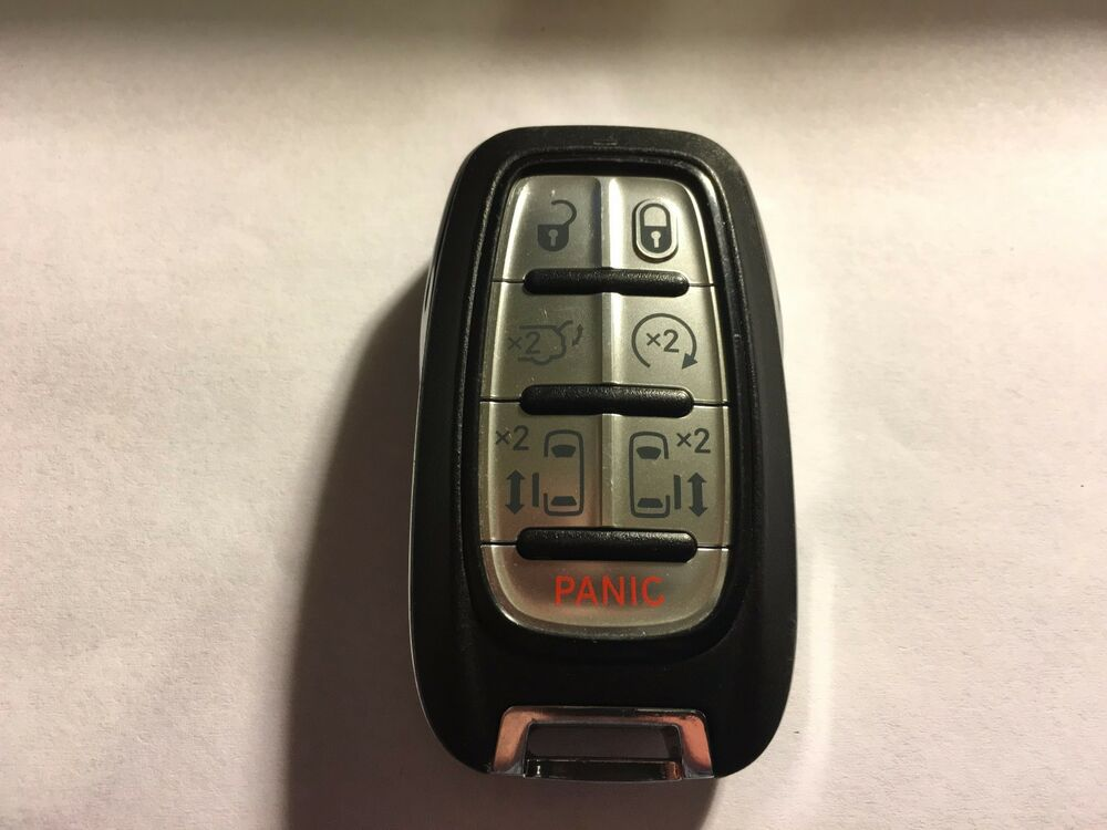Chrysler 300 Accessories >> 2017 OEM CHRYSLER PACIFICA 7 BUTTONS SMART KEYLESS REMOTE ...