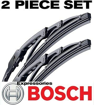 BOSCH Wiper Blades Direct Connect Size 24 & 18 - Front Left and Right Set, New