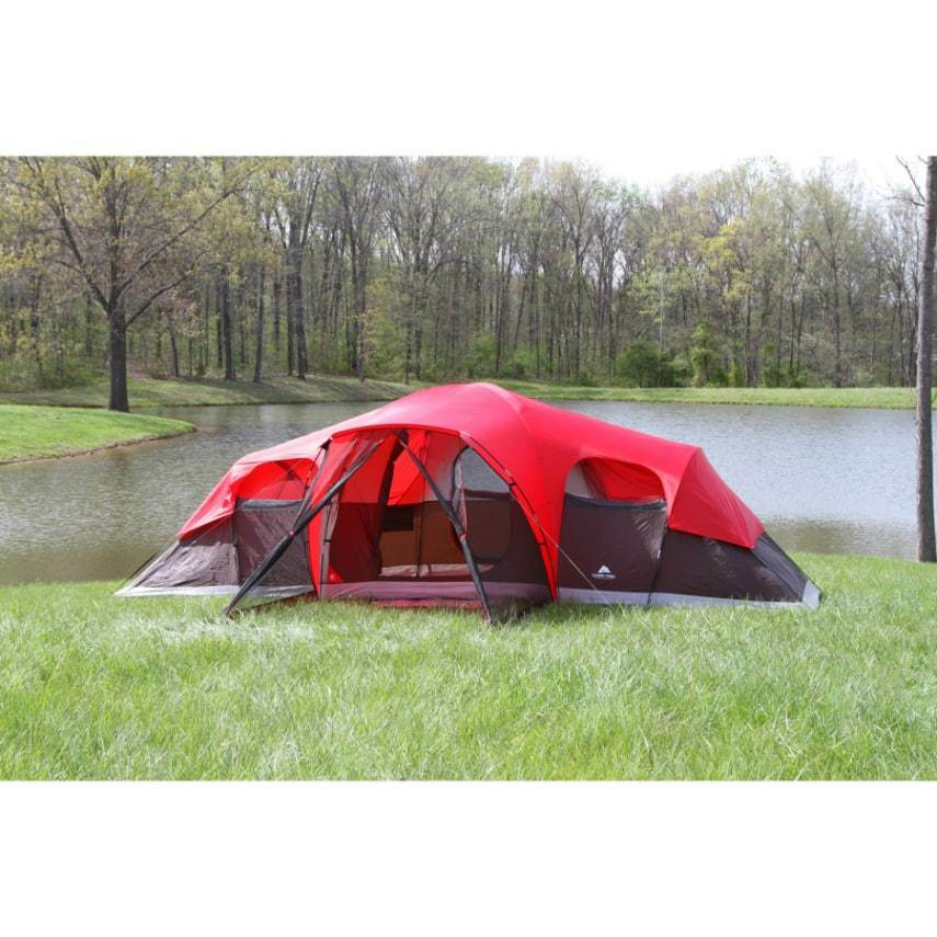 Ozark Trail 10 Person Family Tent, Outdoor Camping Instant