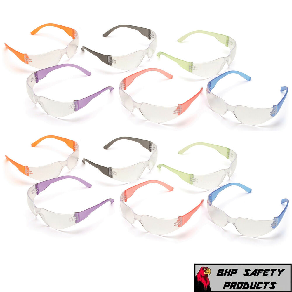8cf1f99476 Details about WOMEN CHILDREN PARTY PYRAMEX MINI INTRUDER SAFETY GLASSES  MULTI COLOR (12 PAIR)