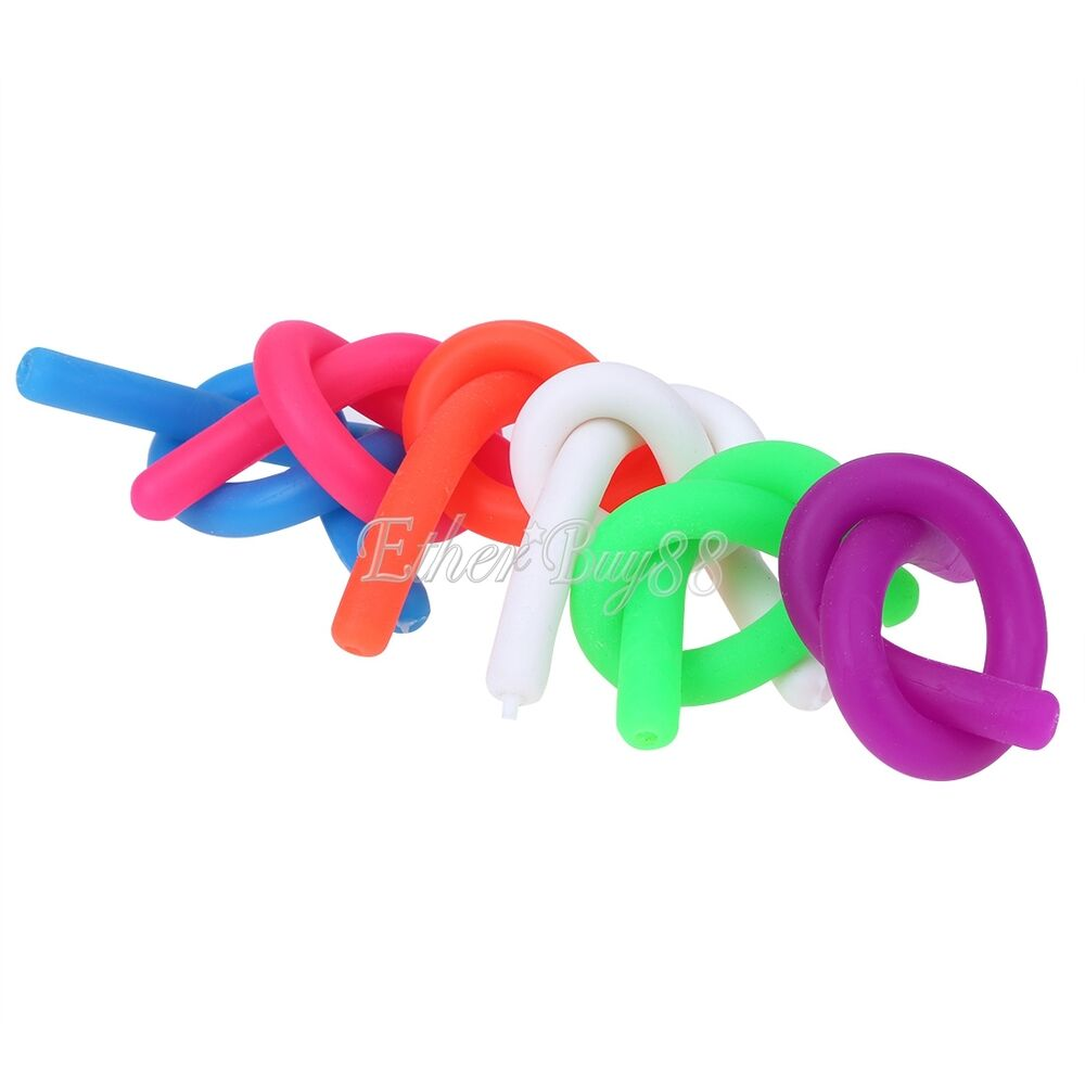 Sensory Toys For Adhd : Pc stretch string sensory fidget toy adhd autism anxiety