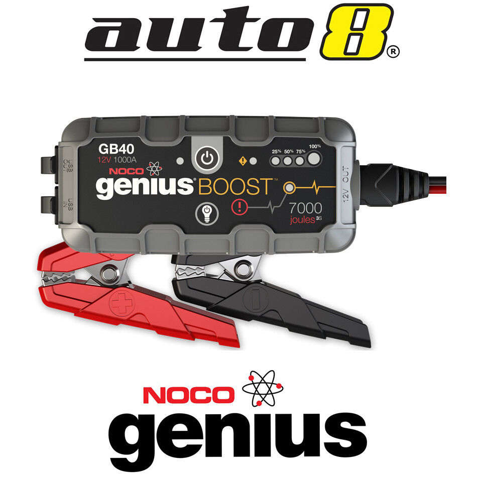 noco gb40 genius boost 12v car ute 4wd jump starter. Black Bedroom Furniture Sets. Home Design Ideas