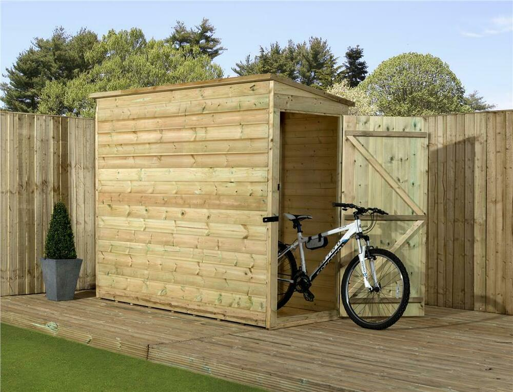 Garden shed 5x3 shiplap pent pressure treated tongue for Garden shed 5x3