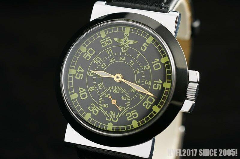 Vintage Military War2 Ww2 Style Pilots Watch Old Stock