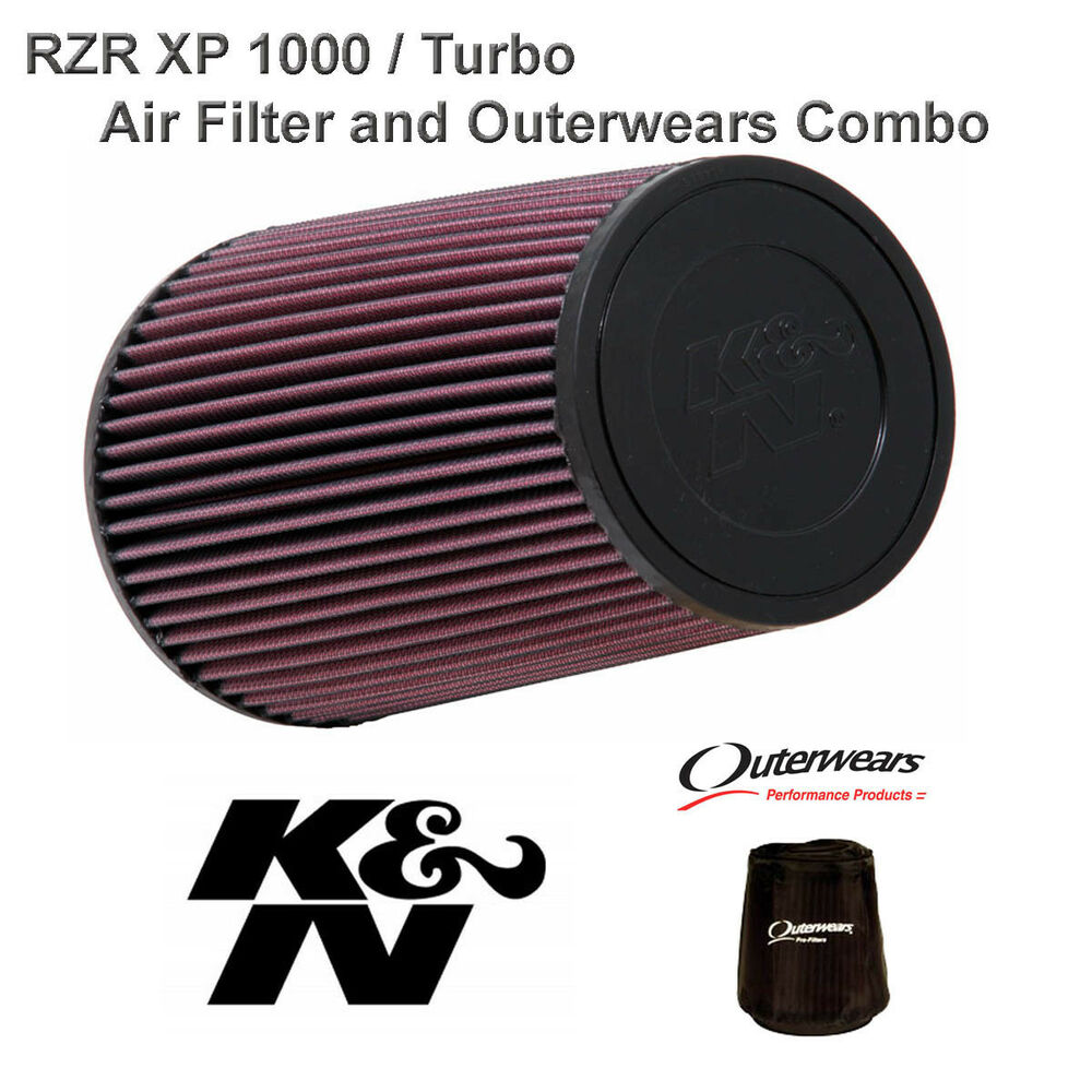 Polaris Rzr Xp1000 K U0026n Performance Clamp Air Filter And