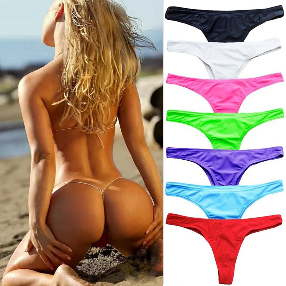 Micro bikini, string bikinis, thong bikini bottoms and thong swimsuits. Our UK manufactured swimwear range also includes sheer, see through, mini skirts, sport and competition swimsuits, leggings, Brazilian bikini tops & bottoms and men's swimwear.