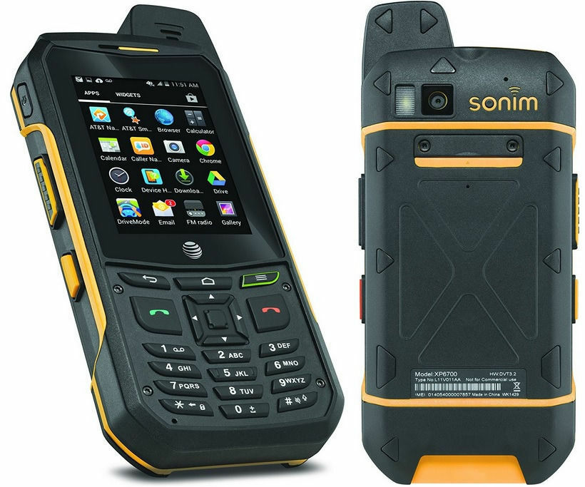 Sonim XP6 AT&T UNLOCKED Rugged Waterproof Military Android ...