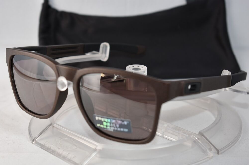 a1c8bca5035 Details about OAKLEY POLARIZED CATALYST SUNGLASSES OO9272-21 55 Corten    Prizm Daily Polarized