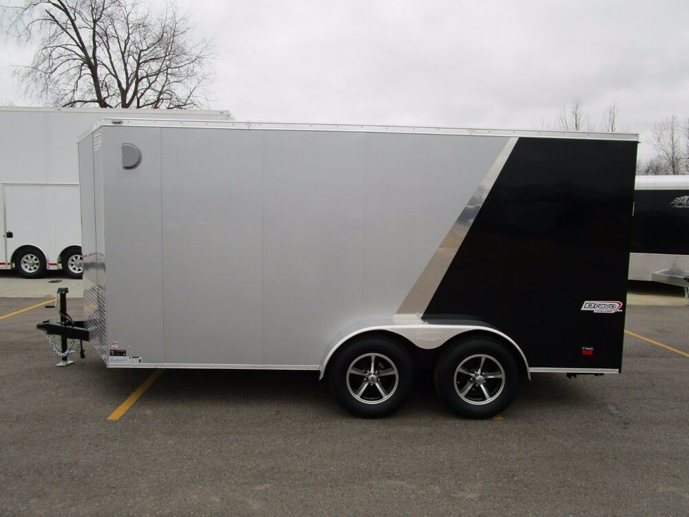 2019 Bravo 7x14 Scout Enclosed Motorcycle Trailer Ebay