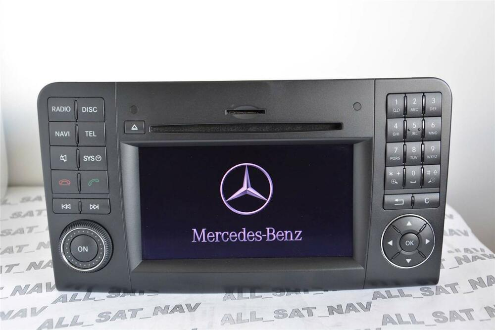 mercedes comand aps ntg2 5 w164 ml gl navigation system. Black Bedroom Furniture Sets. Home Design Ideas