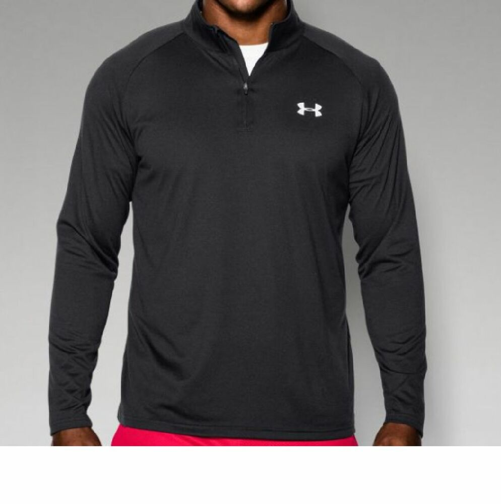 Under Armour Mens Ua Tech 1 4 Zip Shirt New Mens Tall X