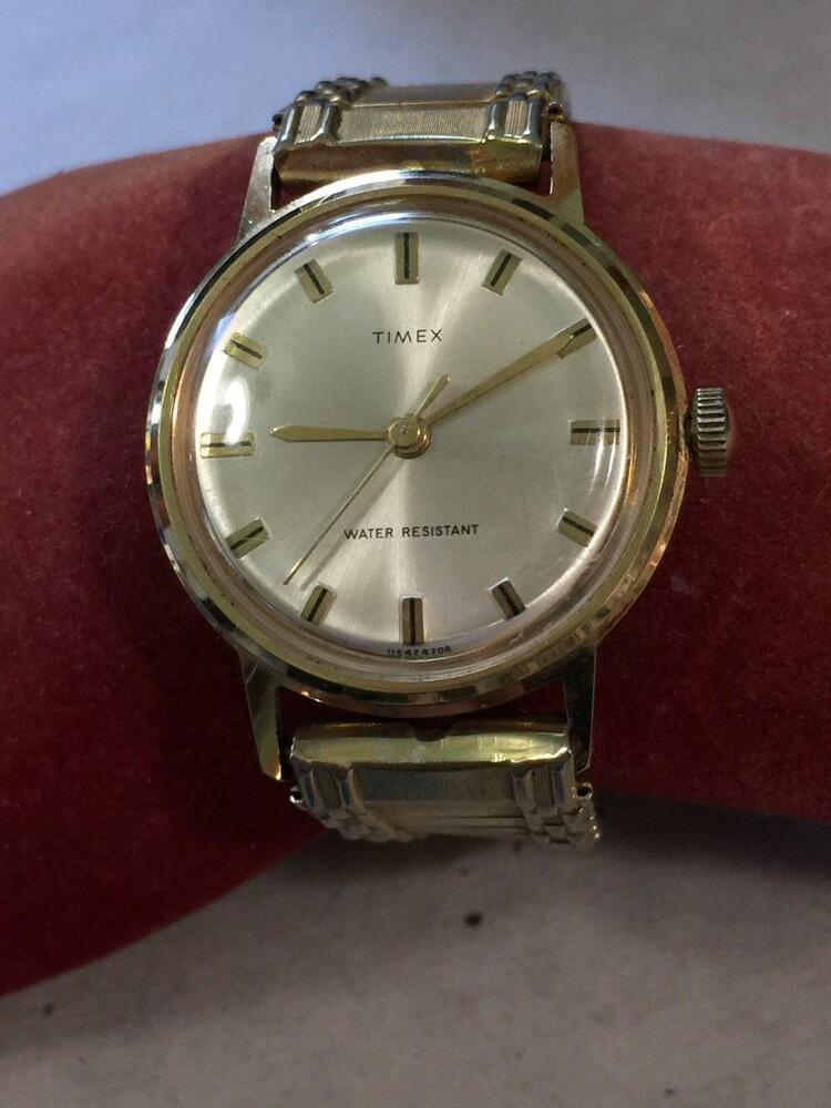 Thanks vintage mens timex apologise, but